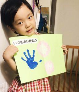 敬老の日や母の日に手形アートで感謝を