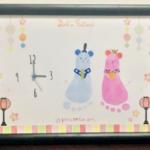 2/18(火)【無料】時計付!かわいい手形足形アートWS(おひなさまデザイン有)子育てとお金の教室in品川